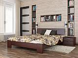 """Двоспальне ліжко """"Титан"""" з бука (щит, масив), фото 6"""