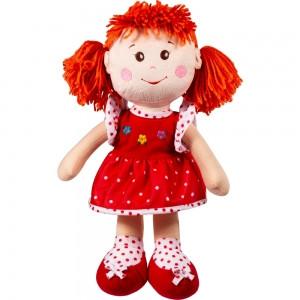Кукла мягкая мягконабивная с вышитым лицом 40см