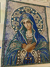 КФ-01. Алмазная мозаика Икона Богородица Умиление