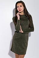 Платье женское в стиле Casual 5500 (Хаки меланж)