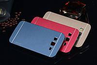 Чехол Motomo Aluminum Samsung J100h Galaxy J1, фото 1