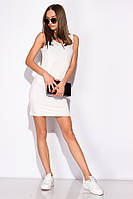 Платье-туника женское 516F310-1 (Молочный)