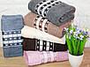 Лицевые турецкие полотенца Кубики, фото 5