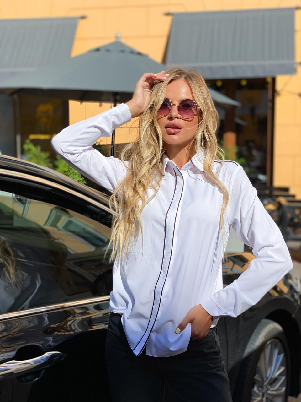 Блузка біла 641
