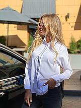 Блузка 641 белая, фото 2