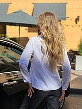 Блузка біла 641, фото 3