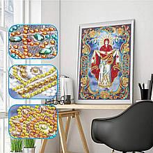 КФ-02. Алмазная мозаика Икона Покров Пресвятой Богородицы