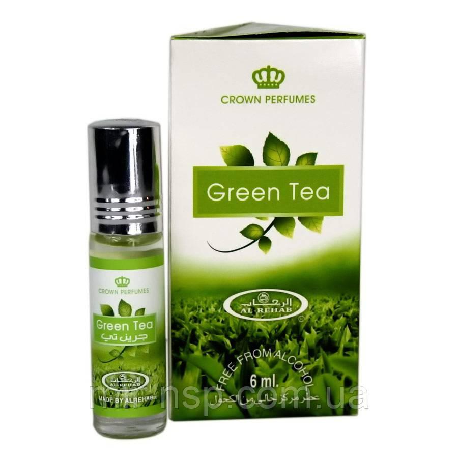 Green Tea унисекс Al-Rehab 6 мл ОАЭ
