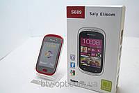 "Мобильный телефон Samsung s689 Galaxy Duos, 2 sim экран 3,2"" экран"