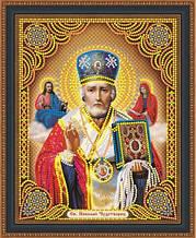 КФ-04. Алмазная мозаика Икона Святой Николай-Чудотворец