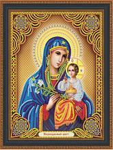 КФ-06. Алмазная мозаика Икона Пресвятая Богородица Неувядаемый цвет