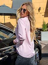 Блузка 641 розовая, фото 2