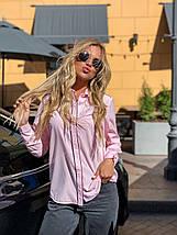 Блузка 641 розовая, фото 3