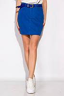 Стильная джинсовая юбка 148P201 (Электрик) S