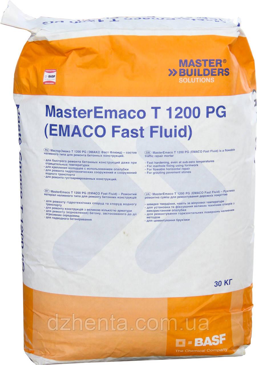 Безусадочная быстротвердеющая сухая смесь MasterEmaco T 1200 PG