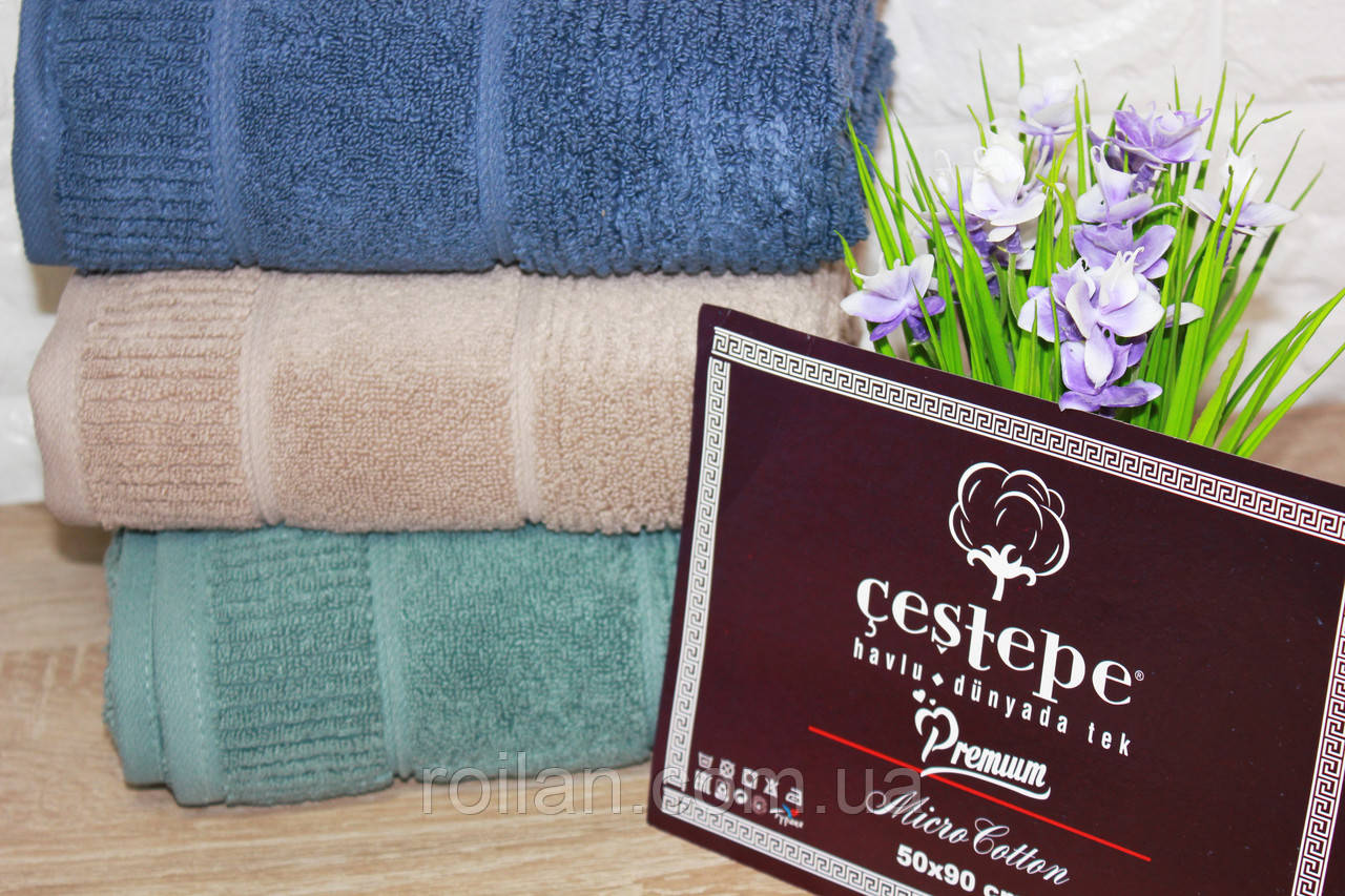 Лицевые турецкие полотенца Cestepe Premium NEVARA