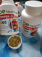 Омега - 3 для дітей. Омега 3 для детей (Рыбий жир)  Джерелія Jerelia Джерелия, фото 4
