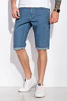 Летние джинсовые шорты 148P110-3 (Светло-синий)