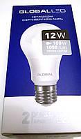 Светодиодная лампа 12 W Е27 GLOBAL LED теплый свет