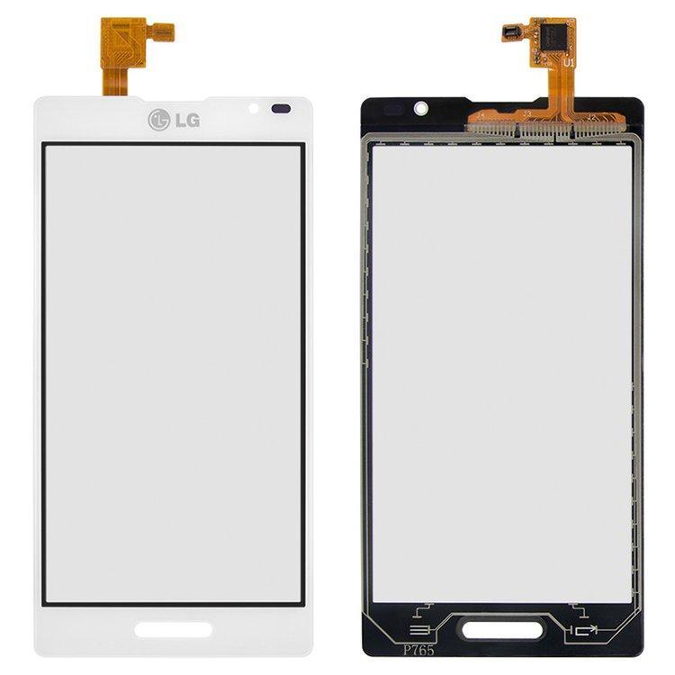 Сенсорный экран (тачскрин) LG P760 Optimus L9 | P765 | P768, белый