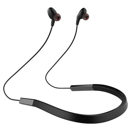 Беспроводная гарнитура для спорта Bluetooth наушники Gelius Crossfade GP H-1050 Black/Grey, фото 2