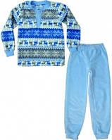 Пижама теплая подростковая Скандинавские узоры