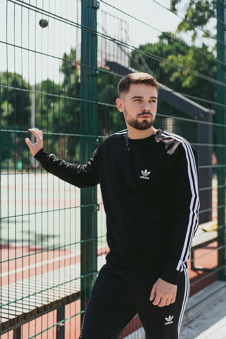Мужской спортивный костюм Adidas (Олимпийка +штаны)