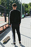 Мужской спортивный костюм Adidas (Олимпийка +штаны), фото 2
