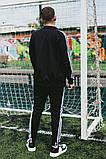 Мужской спортивный костюм Adidas (Олимпийка +штаны), фото 8