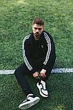 Мужской спортивный костюм Adidas (Олимпийка +штаны), фото 9