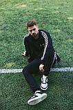 Мужской спортивный костюм Adidas (Олимпийка +штаны), фото 10