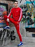 Мужской спортивный костюм (свитшот+штаны) ADIDAS, фото 3