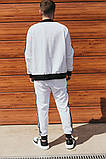 Чоловічий спортивний костюм Adidas (Олімпійка +штани), фото 3