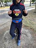 Спортивный костюм подростковый Brawl Stars, Черный, фото 3