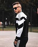 Мужской спортивный костюм  ADIDAS (свитшот), фото 5