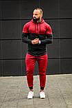 Мужской спортивный костюм Asos tech-diving (красный), фото 2
