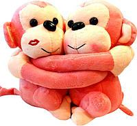 Мягкая игрушка обезьяны (пара)