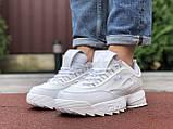 Чоловічі кросівки Fila Disruptor 2 білі, фото 4