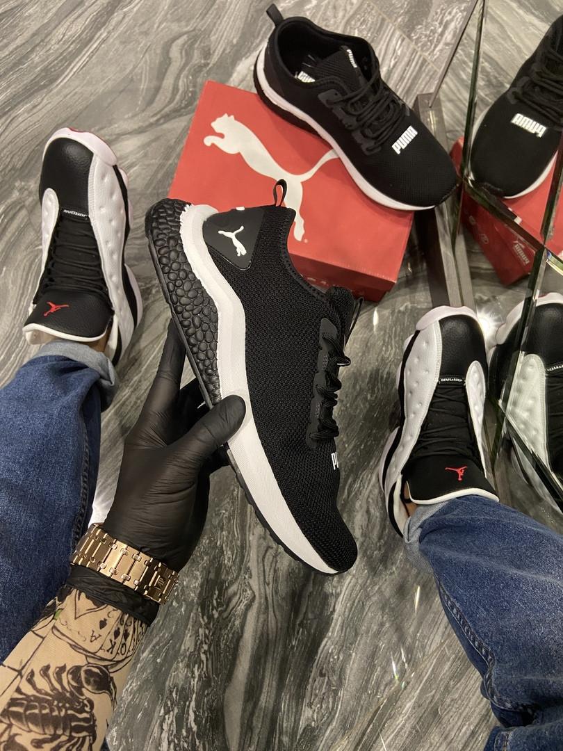 Мужские кроссовки  Puma Hybrid Black.