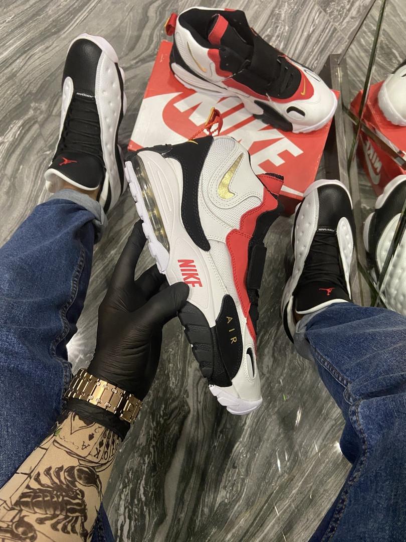 Мужские кроссовки  Nike Air Max Speed Turf White Red.