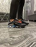 Чоловічі кросівки Nike Air Max TN Plus Black Blue, фото 2