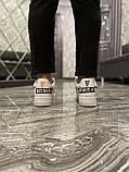 Чоловічі і жіночі кросівки Nike Air Force Just Do It Pack White/Black., фото 3