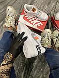 Чоловічі і жіночі кросівки Nike Air Force Just Do It Pack White/Black., фото 6