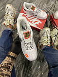 Чоловічі і жіночі кросівки Nike Air Force Just Do It Pack White/Black., фото 8