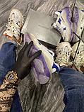 Жіночі кросівки Balenciaga Triple S Clear Sole Violet White, фото 5