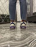 Жіночі кросівки Balenciaga Triple S Clear Sole Violet White, фото 6
