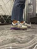 Жіночі кросівки Balenciaga Triple S Clear Sole Violet White, фото 7