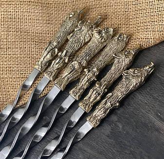 """Шампура ручной работы """"Успешная охота"""", 6шт без упаковки, фото 2"""