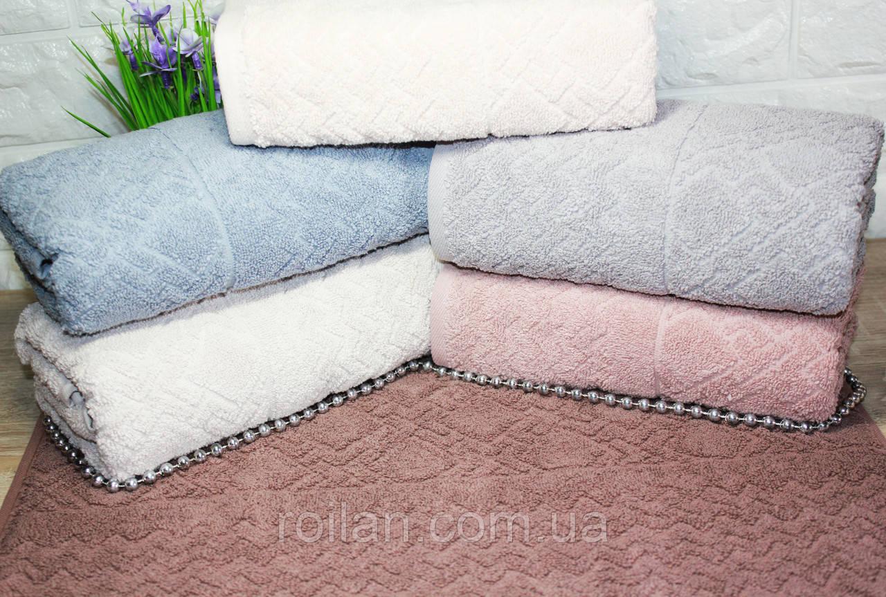 Лицевые турецкие полотенца Lux Grand