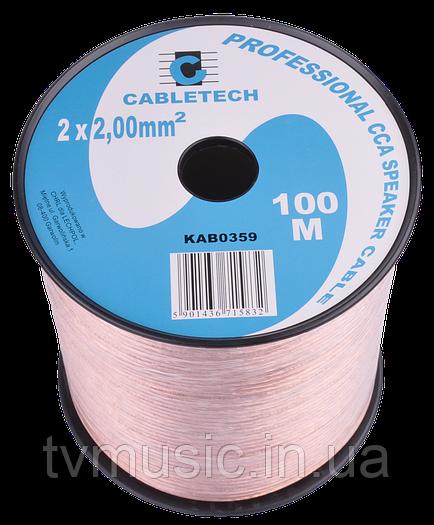 Кабель акустический Cabletech KAB0359   2x2,0mm